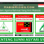 Halaman depan situs