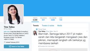 Tweet Tina Talisa