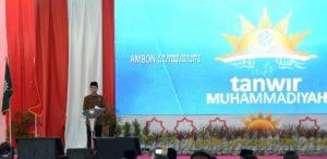 Presiden Jokowi membuka Tanwir Muhammadiyah di Ambon (IST)
