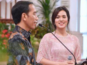 Jokowi dan Raissa (IST)