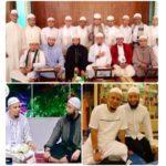 Ustaz Khalid Basalamah bersama Ustaz Arifin Iham.