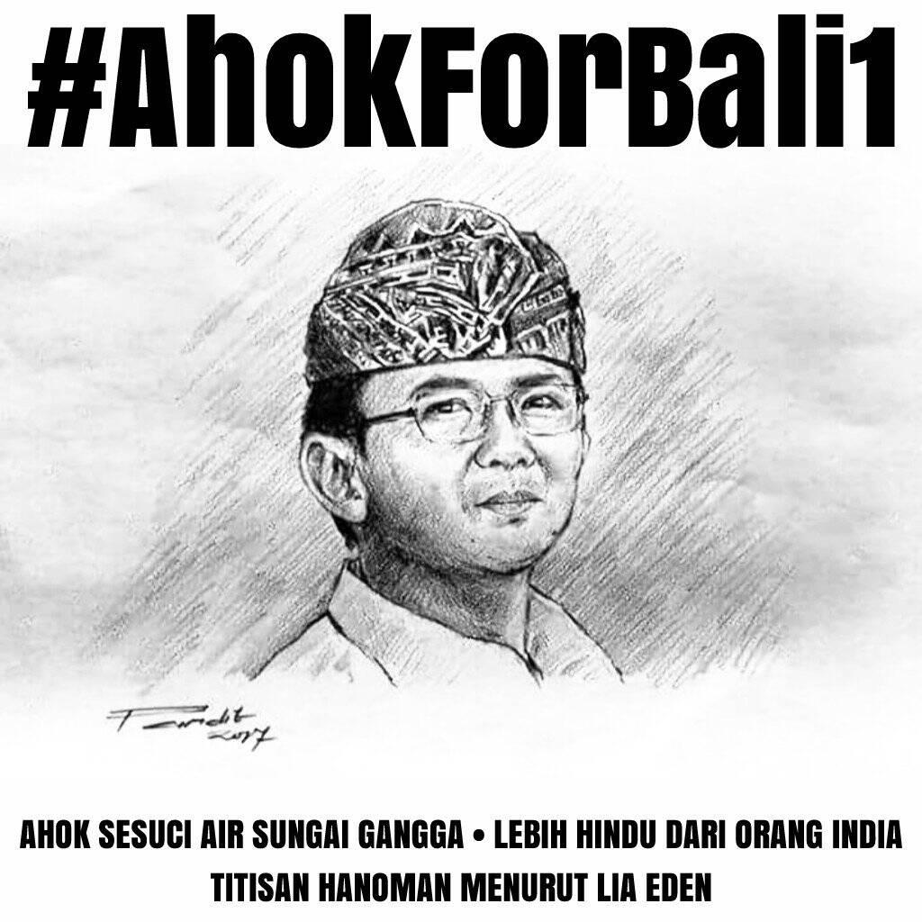 AhokForBali1 Jadi Trending Topic di Twitter