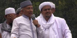 Amien Rais dan Habib Rizieq (IST)