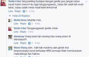 Follower Gus Nur, Yunlin Erlun  meminta Gus Nur tak Kabur (IST)