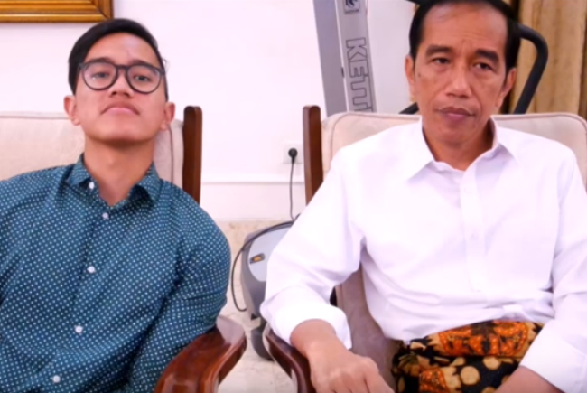Kaesang Pangarep dan Jokowi (IST)