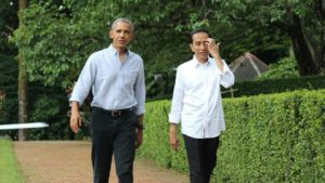 Barack Obama dan Jokowi (IST)