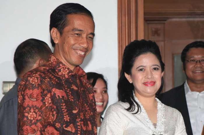 Jokowi-Puan Maharani (IST)