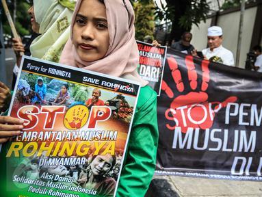 Demo kasus Rohingya (IST)