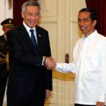 PM Singapura Lee Hsien Loong dan Presiden Jokowi (IST)