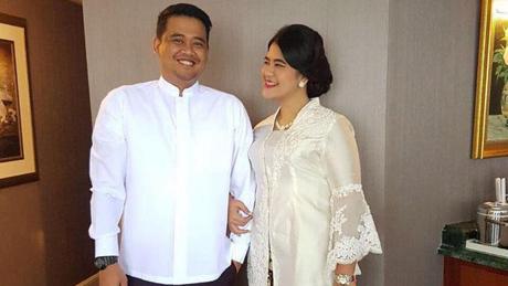 Kahiyang Ayu dan calon suami, Bobby Nasution - Ist