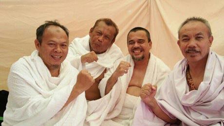 Eggi Sudjana bertemu Habib Rizieq (tengah). (Dok. Istimewa)