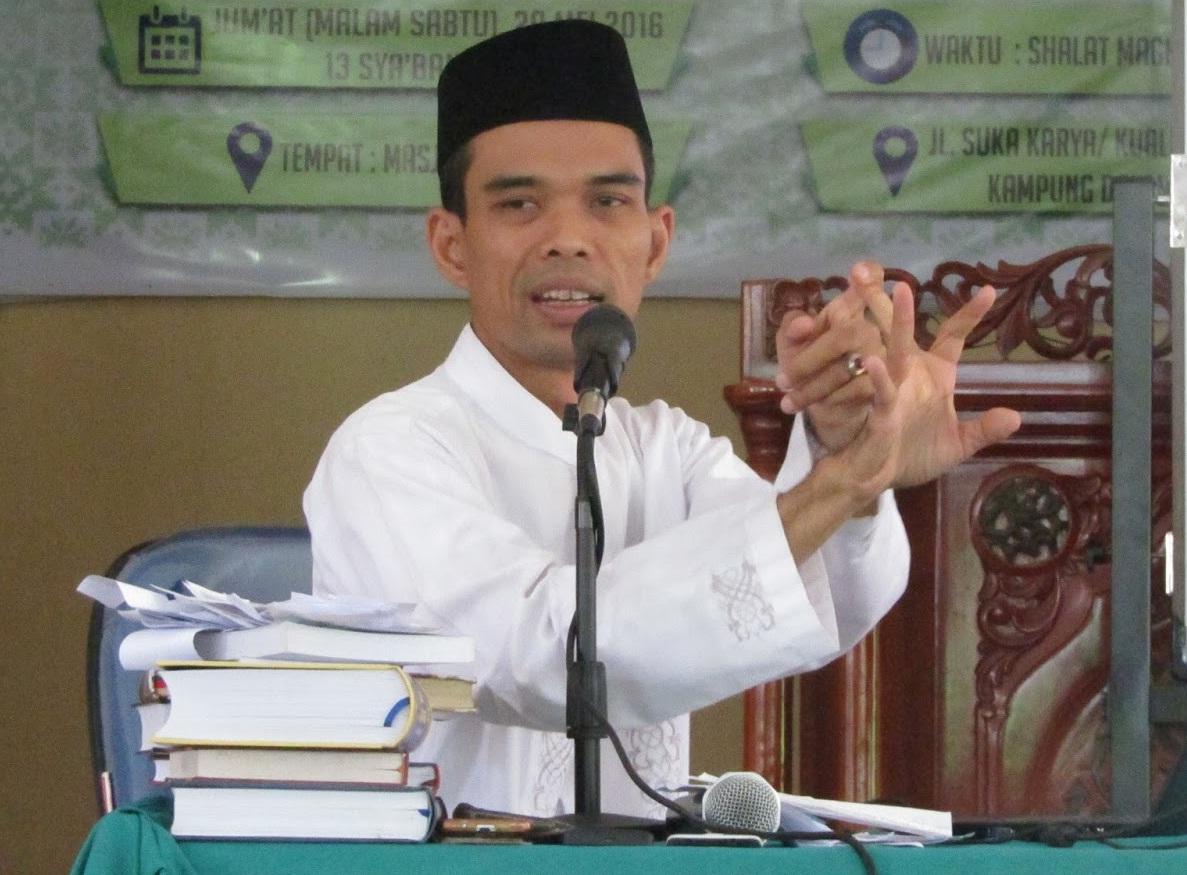 PBNU Minta Ustadz Abdul Somad Memperbaiki Bahasa Dakwahnya