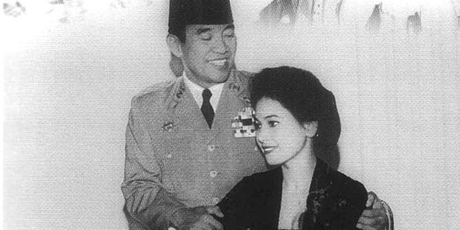 Soekarno dan Dewi Soekarno (IST)