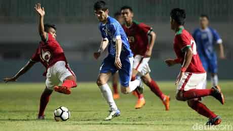 Timnas Indonesia melawan Uzbekistan